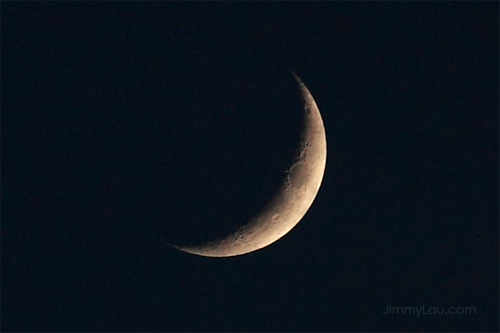 如何拍摄月亮/月球/月面?